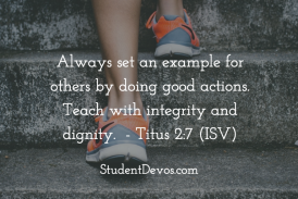 Daily Bible Verse and Devotion – June 20