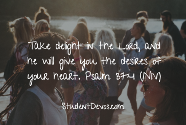 Daily Bible Verse and Devotion – Psalm 37:4