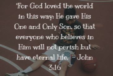 Daily Bible Verse and Devotion – John 3:16