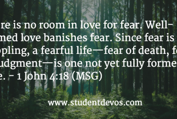 Daily Bible Verse and Devotion – October 29