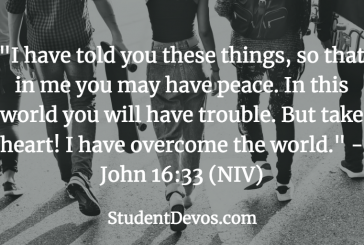 Daily Bible Verse and Devotion – November 19