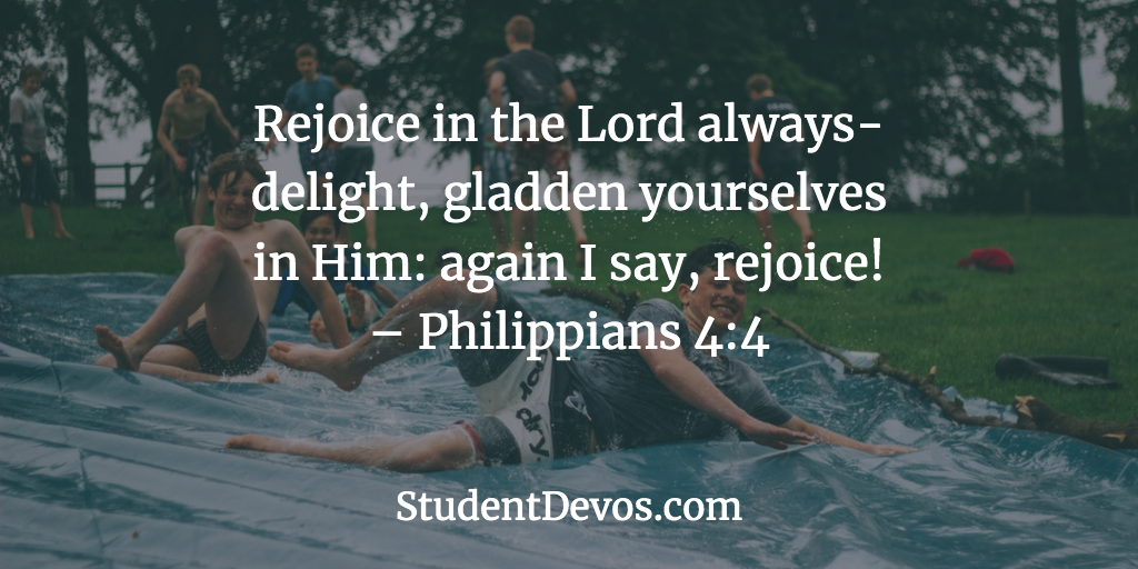 Daily Bible Verse and Devotion – Philippians 4:6