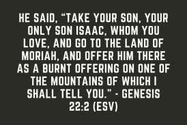 Daily Bible Verse and Devotion – Genesis 22:2