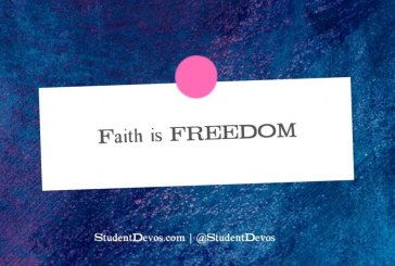 Learn How Faith In Jesus Is Freedom