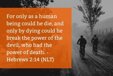 Daily Bible Verse and Devotion – Hebrews 2:14