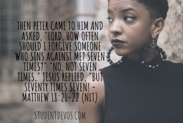 Daily Bible Verse and Devotion – Matthew 18:21