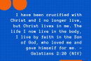 Daily Bible Verse and Devotion – Galatians 2:20