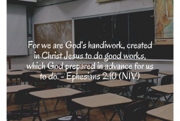 Daily Devotion and Bible Verse – Ephesians 2:10