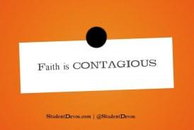 Is Faith Really Contagious?